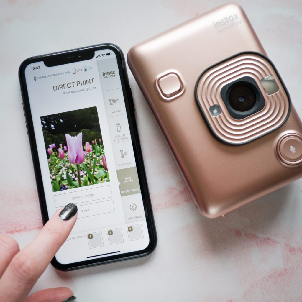 new instax liplay app